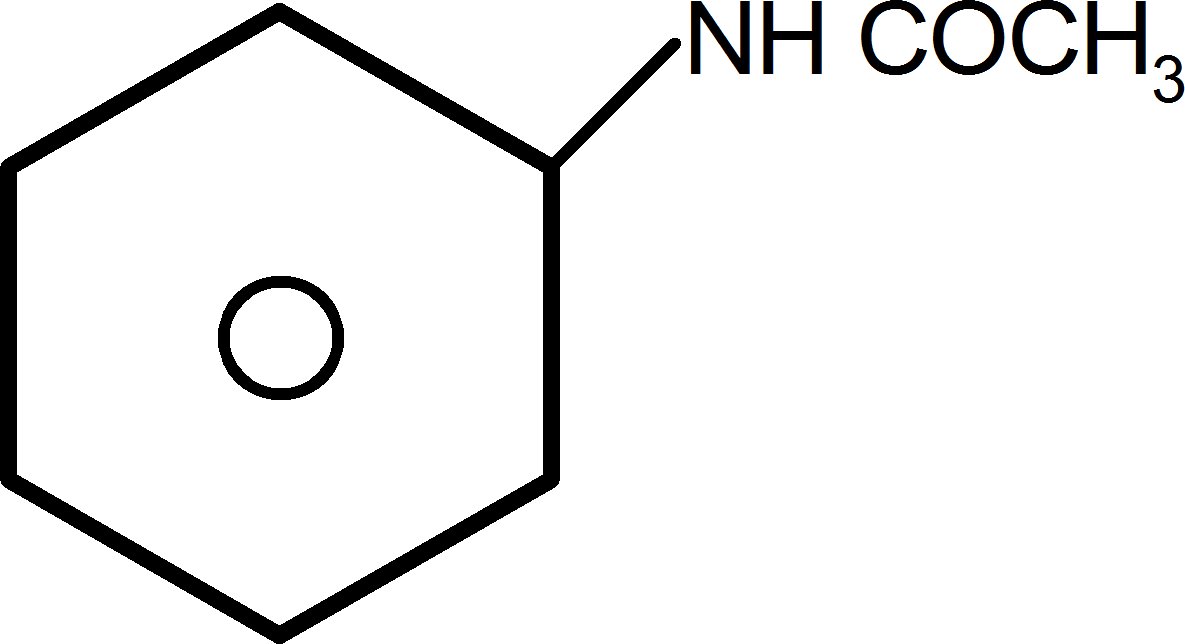 Product obtained in reaction of aniline: Choice A