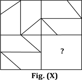 Figure shows the pattern in figure (X)
