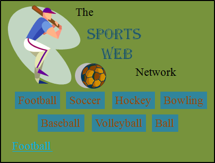 This image shows the favorite sports website