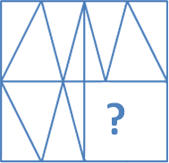 Figure from the 4 options find the blank space of the problem