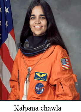 He/She was the first Indian to go into space – Choice A
