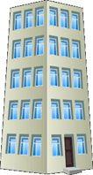 This building is tallest. – Choice C