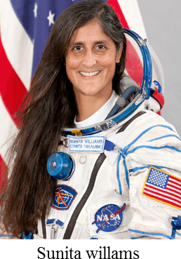 He/She was the first Indian to go into space – Choice C