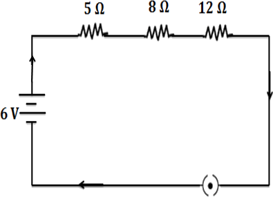 The schematic diagram of a circuit : Choice C