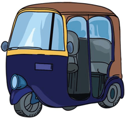 Image shows transportation vehicle – Choice A