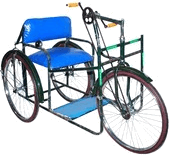 Image shows vehicles is designed for disabled persons –Choice C