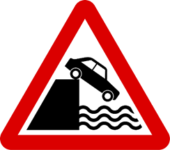 Image shows the prohibitory road sign – Choice C