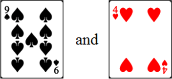 In given cards have two pairs – Choice A