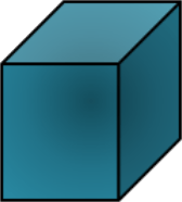 This geometric shape shown a cube or not choice C