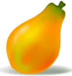 This fruit is shown from pictograph – Choice B