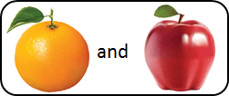 This figure shown pair of two fruits – Choice A