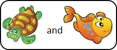 This image shown two sea animals – Choice B