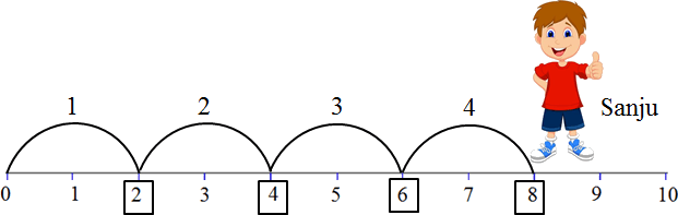 This diagram shows the Sanju jumps – Choice C