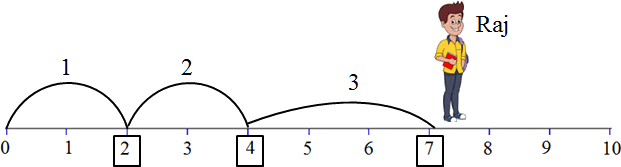 This diagram shows the Raj jumps – Choice D