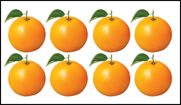 This object has oranges