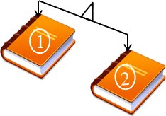 This figure shows the balance of books – Choice D