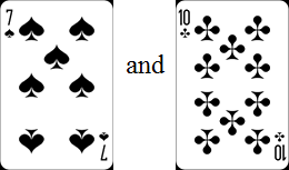In this cards have two pairs – Choice B