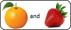 This figure shown pair of two fruits – Choice B