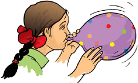 This image shows the girl with balloon