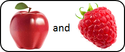 This figure shown pair of two fruits – Choice D