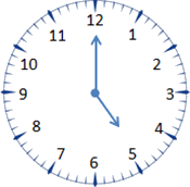 This clock shows more than time – Choice B