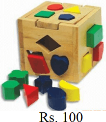 This image of toy shown with its cost – Choice A