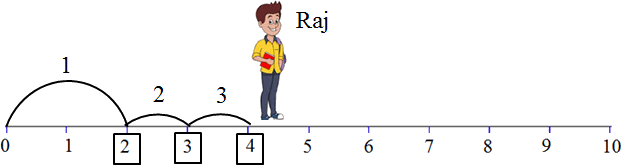 This diagram shows the Raj jumps – Choice C