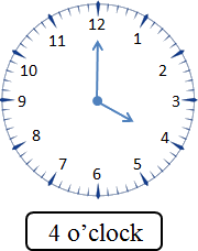 This image of clock get the time – Choice A
