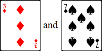 In given cards have two pairs – Choice B