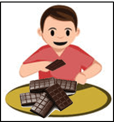In this image shown the some chocolates bars