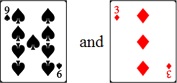 In given cards have two pairs – Choice D