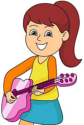 Image of Rima's with guitar