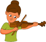 Image of Jessy's with violin