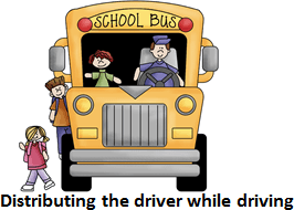 Image defining how to travel in a bus – Choice D
