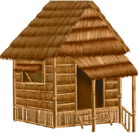 Image shows the house is found in cold region – Choice A