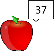 Image shows the fruit with number – Choice A