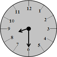 The clock with 8:30 time – choice D