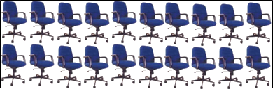 Image of arrangement of seats – Choice A