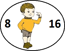 Finding what is I? When 8 and 16 are given