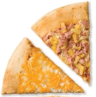The picture represents pizza slices – choice B