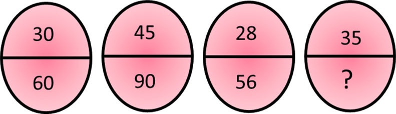 Image shows 4 different numbers