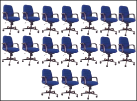 Image of arrangement of seats – Choice D