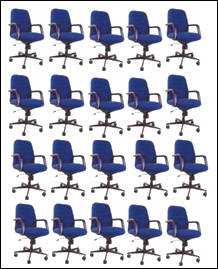 Image of arrangement of seats – Choice C