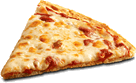 The picture represents pizza slices – choice D