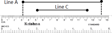 This figure defines line A and line C