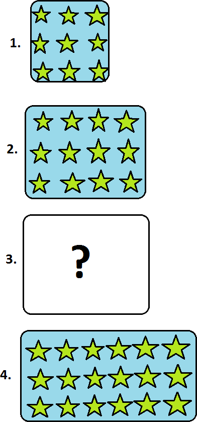 Find the number of stars in question mark