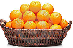 Many oranges are in basket – Find good oranges