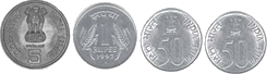 This image represents different types of coins – choice D