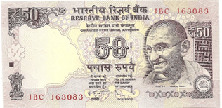 Image of Rs. 50 note