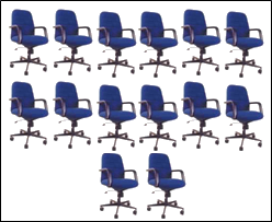 Image of arrangement of seats – Choice B